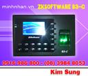 Tp. Hồ Chí Minh: Máy chấm công vân tay ZK B3-C giá rẻ hàng uy tín mới 100%-lh ms sung 0916986800- CL1127146