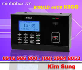 Máy chấmc ông thẻ từ ronlad jack K300 hàng mới giá mới-lh ms sung 0916986800-08.