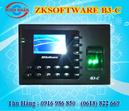 Đồng Nai: máy chấm công vân tay và thẻ cảm ứng ZK Soft Ware B3-C bền CL1128040