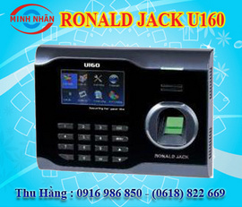 máy chấm công vân tay và thẻ cảm ứng Ronald jack U160. giá tốt
