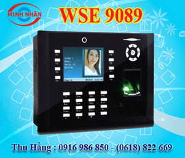 máy chấm công vân tay và thẻ cảm ứng kết hợp access control wise eye 9089