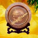 Tp. Hà Nội: Sản suất đĩa đồng, nhận làm đĩa đồng quà tặng, chế tác đĩa đồng logo CL1128729P7