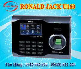 máy chấm công vân tay và thẻ cảm ứng Roanld Jack U160. siêu bền. lh:0916986850