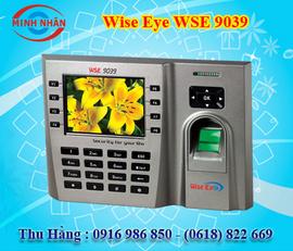 máy chấm công vân tay và thẻ từ wise eye 9039.
