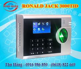 máy chấm công vân tay và thẻ cảm ứng Ronald jack 3000T. phù hợp cho các KCX