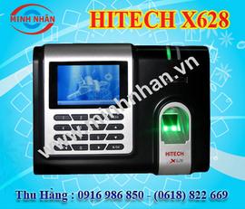 máy chấm công vân tay hitech X628. giá tốt nhất trên thị trường hiện nay