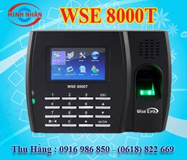 máy chấm công vân tay và thẻ cảm ứng wise eye 8000T. phù hợp cho các KCX