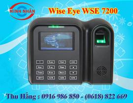 máy chấm công vân tay và thẻ cảm ứng wise eye 7200 phù hợp cho văn phòng, xưởng
