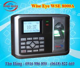 máy chấm công kiểm sóat cửa wise eye 8000A. giá rẻ nhất+phù hợp cho các KCN, KCX