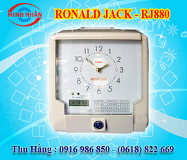 máy chấm công thẻ giấy Ronald Jack RJ-880. giá tốt nhất+khuyến mãi cực sốc