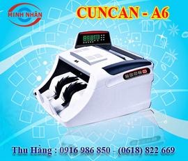 máy đếm tiền Cun can A6. giá tốt nhất trên thị trường+hàng nhập khẩu