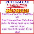 Tp. Hồ Chí Minh: rút hầm cầu thông cống nghẹt 0907. 399. 808 CL1138620