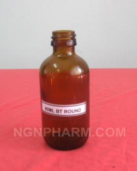 thanh lý chai thủy tinh 60ml( màu hổ phách) đựng tinh dầu