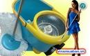 Tp. Hà Nội: Chổi lau nhà 360 độ Spin Mop thùng vắt inox giảm giá 455k CL1201513P9