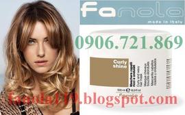 Fanola - Tăng cường dưỡng chất chăm sóc tóc uốn - Made in Italy
