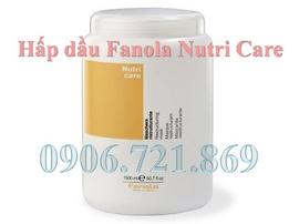 Dưỡng tóc và phục hồi tóc hư với hấp dầu Fanola Nutri Care