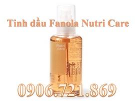 Dưỡng tóc và phục hồi tóc hư với tinh dầu Fanola Nutri Care