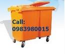 Tp. Hồ Chí Minh: Thùng rác HDPE composit - PE, thùng rác môi trường 55 lí 660 lít CL1138336P9