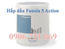 Dưỡng và điều trị tóc hư tổn nặng với hấp dầu Fanola 5 Action