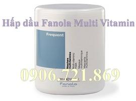 Dưỡng và điều trị tóc yếu, tóc gãy rụng với hấp dầu Fanola Multi Vitamin