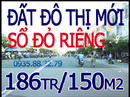 Bình Dương: Khu đô thị mỹ phước 3 sổ đỏ thổ cư 100% 186tr/ 150m2 khu vực đông dân cư gần chợ, CL1137173