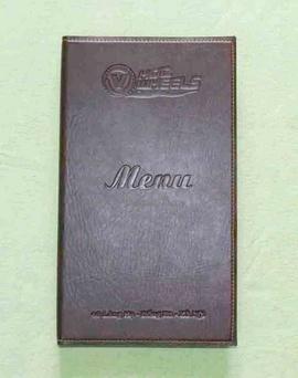 In menu dành cho nhà hàng