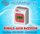 Tp. Hồ Chí Minh: Máy Chấm Công Thẻ Giấy Ronald Jack RJ-2200A/ 2200N Giá Tốt CL1114721P10