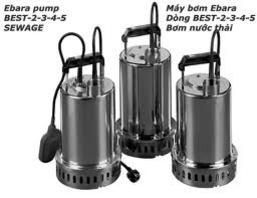 bơm nước thải ebara - best