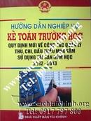 Tp. Hồ Chí Minh: Sách hướng dẫn nghiệp vụ kế toán trường học mới nhất CL1143480