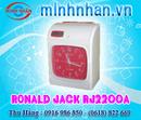 Bà Rịa-Vũng Tàu: Máy Chấm Công thẻ Giấy Ronald jack 2200A/ 2200N Giá Rẻ Nhất - tặng Kèm 300 Thẻ CL1143111