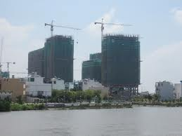Bán Căn Hộ 3 mặt sông - Q7 - Giá 888 triệu/ căn