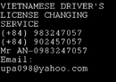 Tp. Hồ Chí Minh: You would like to extend Vietnamese Driver's license? CL1113795