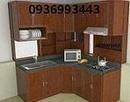 Tp. Hà Nội: Tủ bếp nhôm kính nhôm vân gỗ , nhôm sơn tĩnh điện CL1139056P8