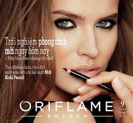 catalogue oriflame tháng 9 năm 2012