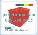 Tp. Hồ Chí Minh: Pallet nhựa mới cũ, đủ chủng loại CL1145590