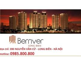 Bán căn hộ P602 Berriver Long Biên: 0985. 800800