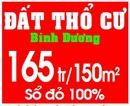 Tp. Hồ Chí Minh: Đất nền bÌnh dương, Mỹ phước 3 bình dương, đất Mỹ Phước 3 Bình Dương 165tr/ 150m2 CL1146809