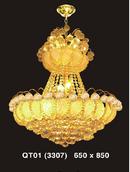 Bến Tre: Đèn trang trí cao cấp giá rẻ bất ngờ, Đèn chùm pha lê giá bán rẻ cực sốc CL1180290