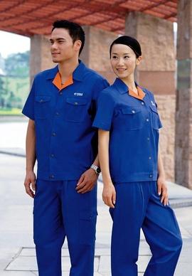 Đồng phục lao động công ty Xuân thủy