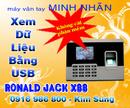 Tp. Hồ Chí Minh: Máy chấm công bằng vân tay X88-lh kim sung 0916 986 800-08. 3984 8053 CL1152198