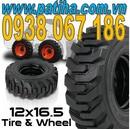 Long An: Vỏ xe nâng công nghiệp, bánh xe nâng hàng, vỏ xe xúc, nhập từ các nước Thái Lan, CL1152249