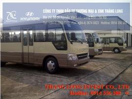 Hyundai County Đồng Vàng giá tốt nhất taị Hyundai Thăng Long