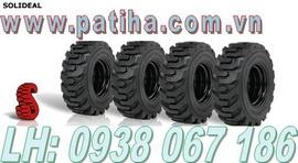 Vỏ xe nâng hàng công nghiệp nhiều thông số, lốp xe nâng công nghiệp, bánh xe nân