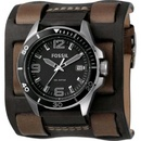 Tp. Hồ Chí Minh: Đồng hồ Fossil Two Buckle Cuff Black Dial Watch CL1154089