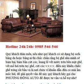 Dịch vụ giặt ghế da tại nhà, chuyên nghiệp, tận tụy, tận tâm