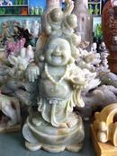 Tp. Đà Nẵng: Tượng đá Ngũ hành sơn- Phật Di lặc gánh đào tiên cao 78cm RSCL1131670