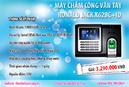 Tp. Hà Nội: Máy chấm công vân tay giá tốt CL1158193