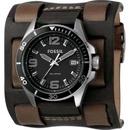 Tp. Hồ Chí Minh: Đồng hồ Fossil Two Buckle Cuff Black Dial Watch, mua hàng Mỹ tại e24h CL1166985P5