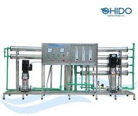 Dây chuyền lọc nước tinh khiết R. O 1500l/ h - máy lọc nước Ohido