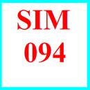 Tp. Hồ Chí Minh: Sim 094, sim số đẹp 094, sim 094 9999, sim 094 888, sim vina 094 CL1194037